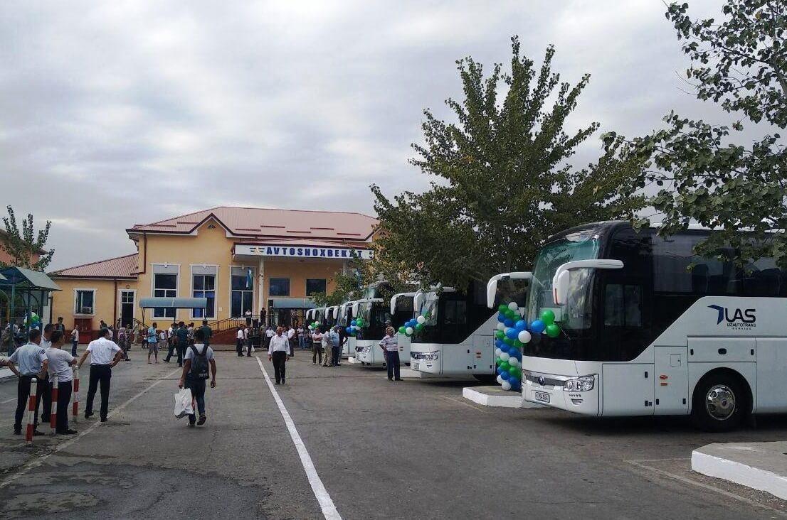 Будет запущена автобусная линия Фергана ─ Дустлик