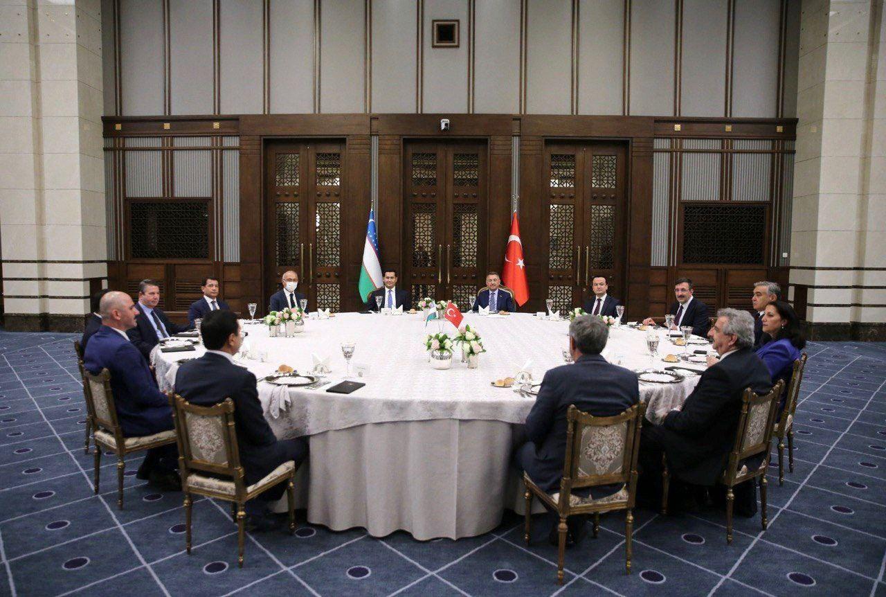 Туркия Республикаси вице-президенти билан учрашув бўлиб ўтди