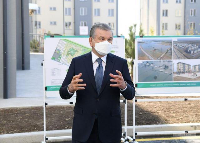 Шавкат Мирзиёев: Нам необходимо менять культуру строительства и жизни