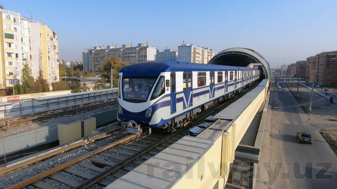 Состоялся тестовый запуск поезда на Сергелийской линии метро