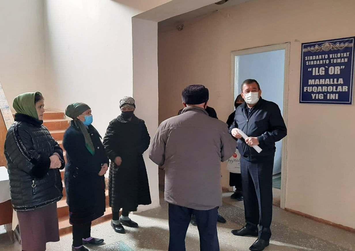 В Сырдарьинской области изучаются территории, не охваченные общественным транспортом