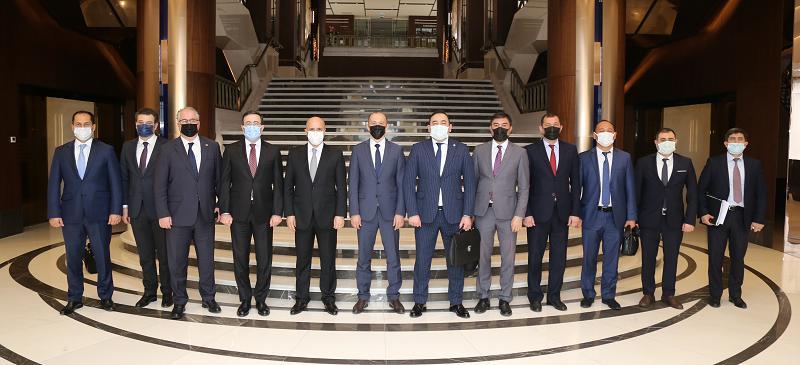 В Баку в рамках Тюркского совета проведены трехсторонние консультации по вопросам сотрудничества в сфере транспорта