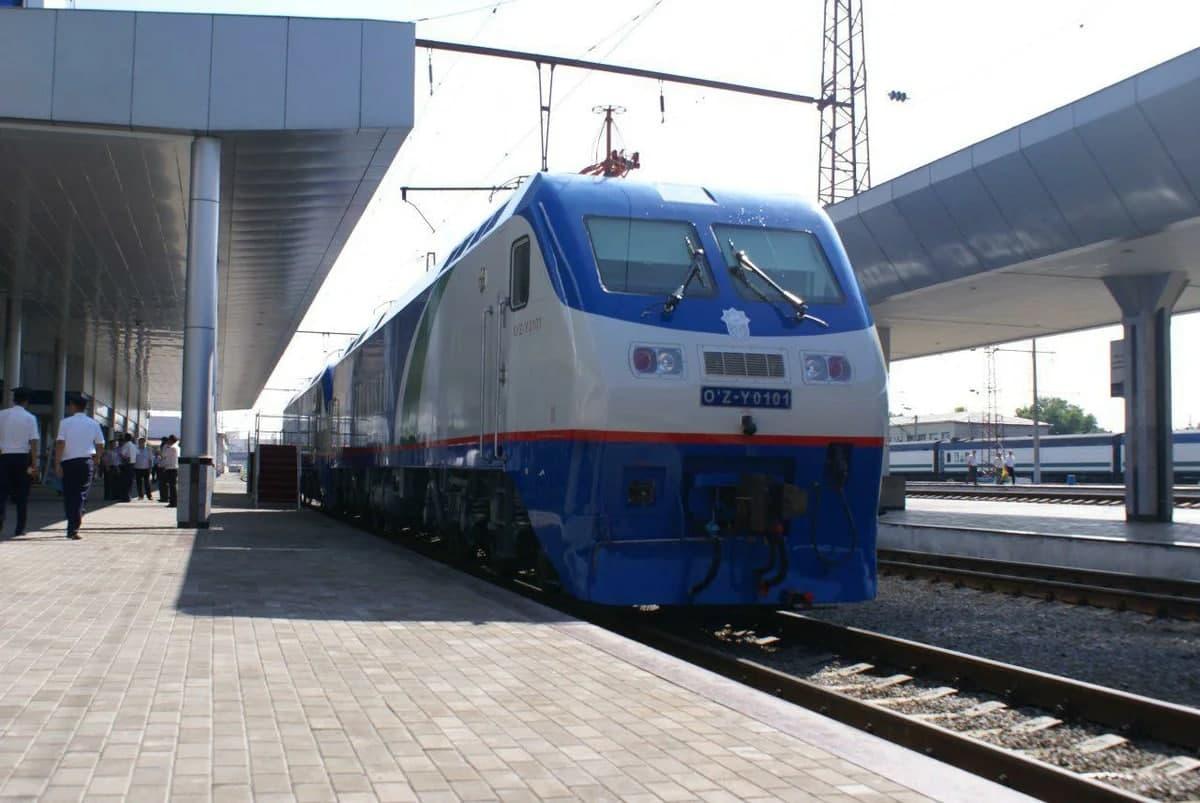 Запущен специальный рейс пассажирского поезда Москва – Ташкент!
