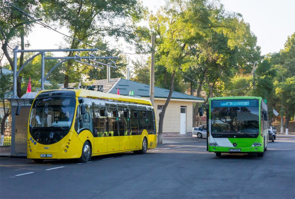 При поддержке Программы развития ООН и Глобального экологического фонда будут закуплены электробусы для города Ташкента